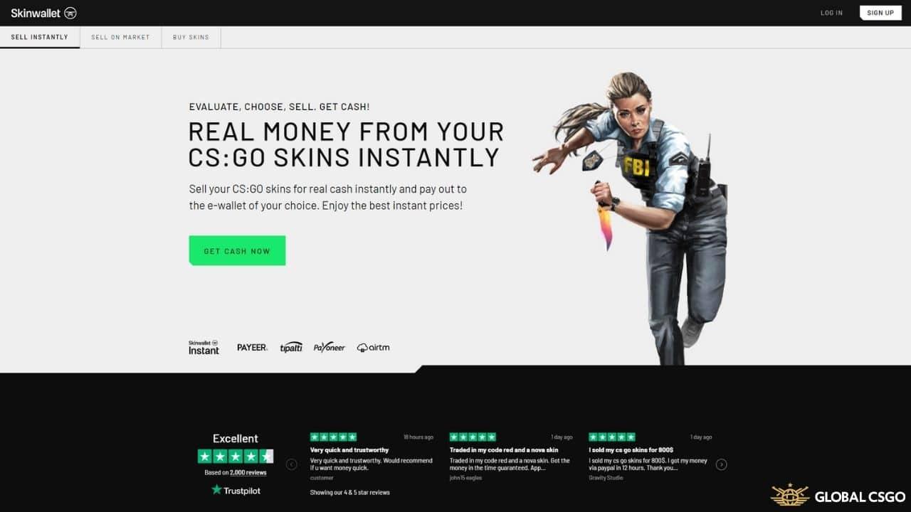 skinwallet csgo trading site