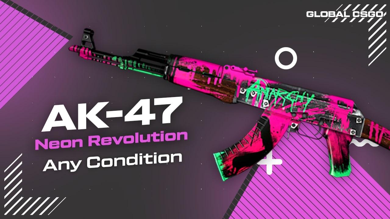 ak47 neon revolution