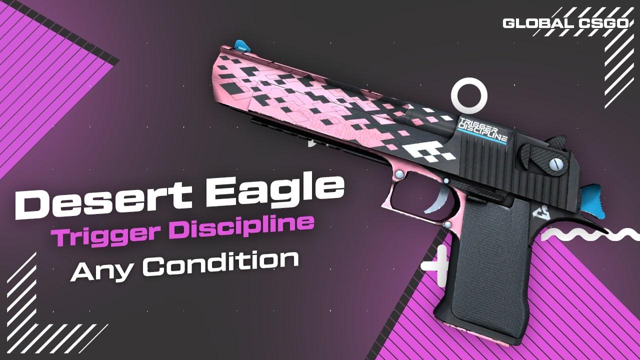 deserteagle trigger discipline